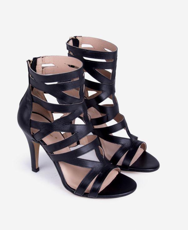 Sandałki na szpilce 3000-B173